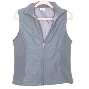 COLUMBIA LIGHT BLUE VEST WOMENS SIZE SMALL